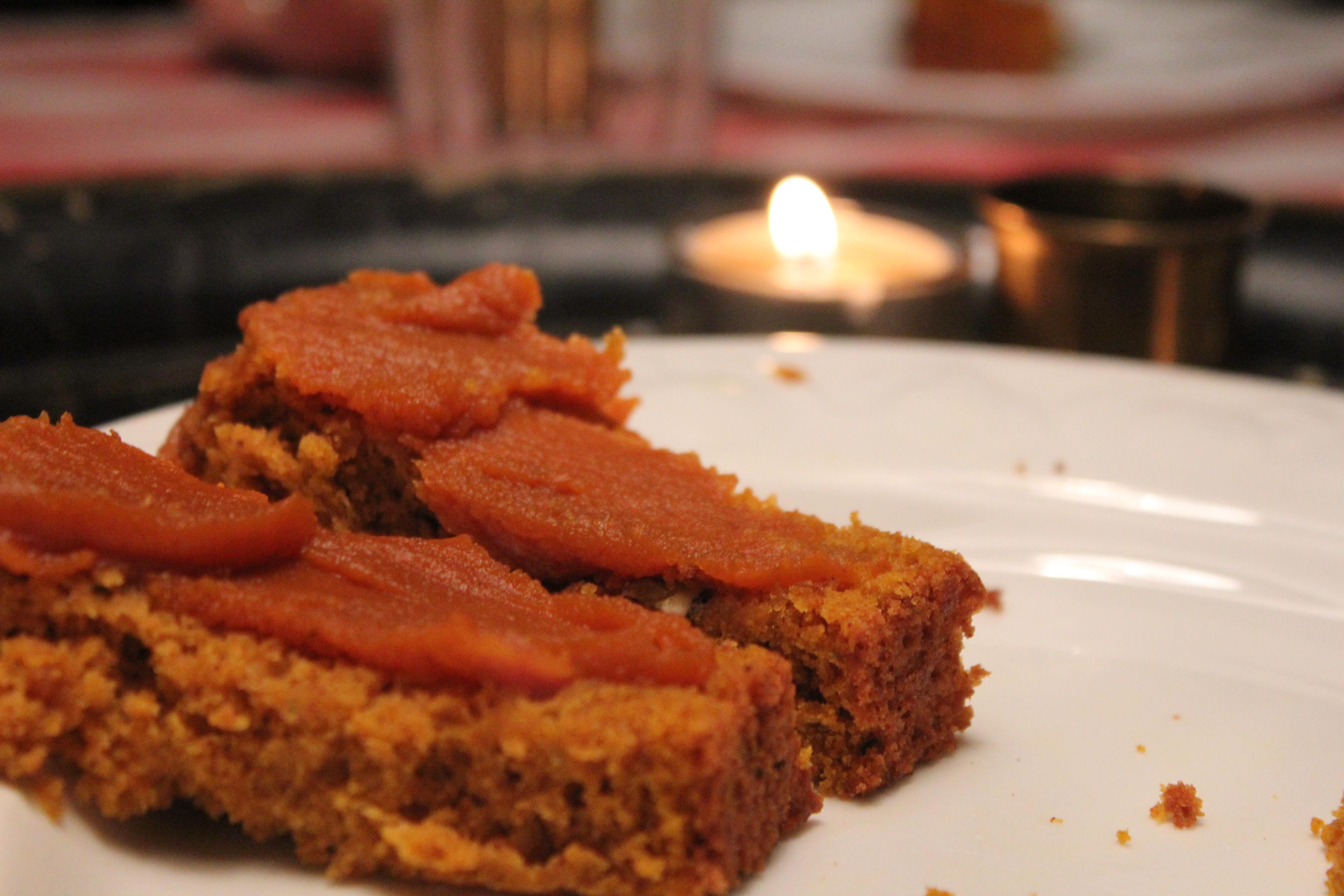 Pumpkin Delight Snack Cake