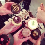 intermission power snack...#georgetowncupcakes