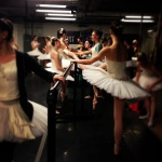 at the ballet...
