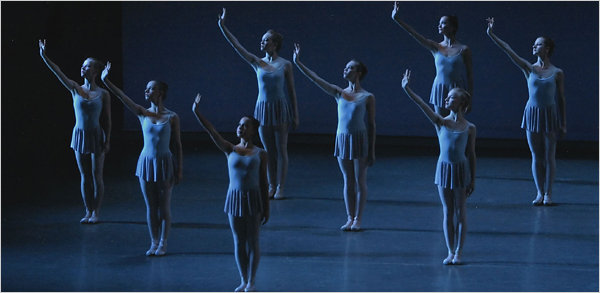 photo credit: Paul Kolnik/NYCB via NYtimes.com June 9, 2007 SAB in George Balanchine's Serenade with NYCB