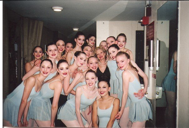 Pictured with the School of American Ballet's Suki Schorer, former NYCB dancer and stager of Serenade - performed in honor of Lincoln Kirstein with NYCB, June 2007