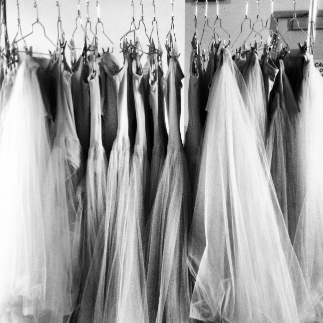 Serenade Costumes pictured backstage at the Boston Opera House