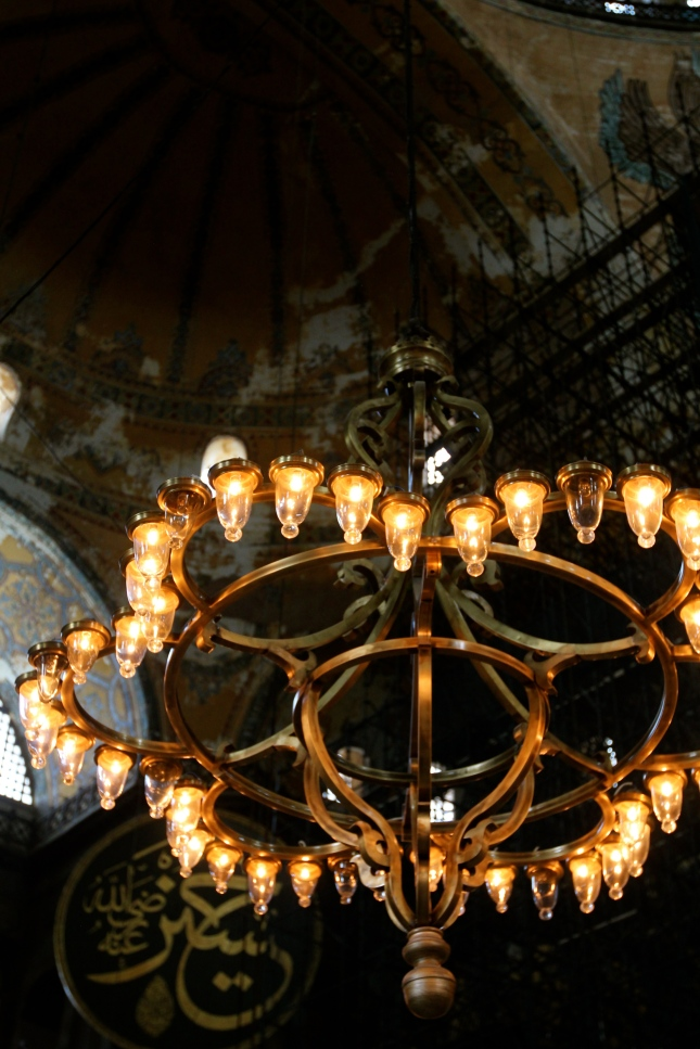 Chandeliers of Hagia Sophia
