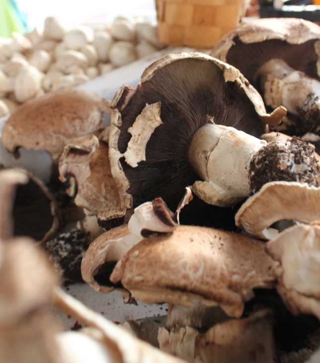 Market Mushrooms