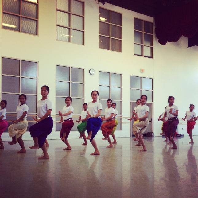 Sacred Dancers of Angkor