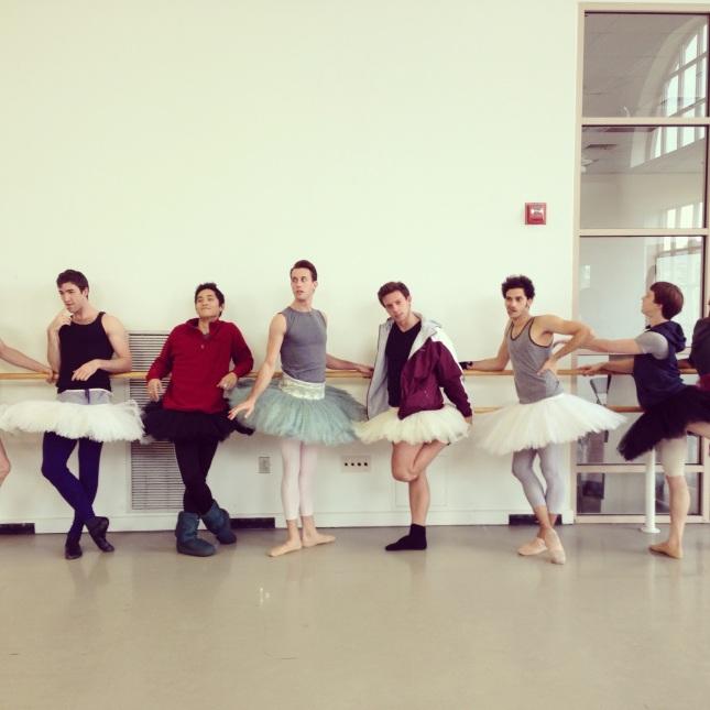 Men of the Ballet.