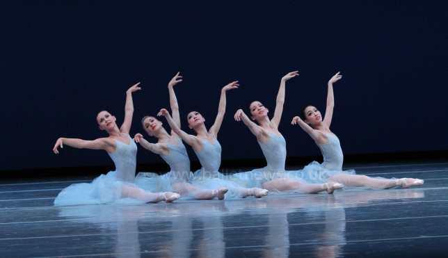 Boston Ballet's Serenade in London, England