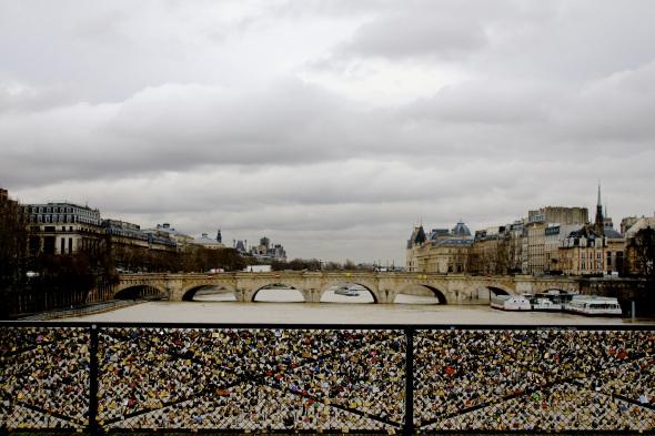 Bridge of Love, Paris France