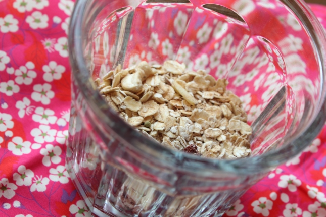 Overnight Oats in a Jar
