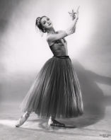 Patricia Wilde in Balanchine's La Valse, circa 1951