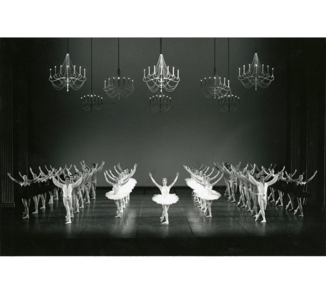 "March 9, 1988 Boston Ballet presented ""The Scandinavians"", a full-length evening featuring the works of three Scandinavian master choreographers, August Bournonville, Birgit Cullberg, and Harald Lander. The company had previously performed two of the pieces, Bournonville's Napoli and Cullberg's Miss Julie. However, this was the first time Boston Ballet had performed Harald Lander's Études. Alexander Kolpin from the Royal Danish Ballet joined the company for the performances. Boston Ballet in Harald Lander's Études Photograph by Jaye R. Phillips Boston Ballet Archives"