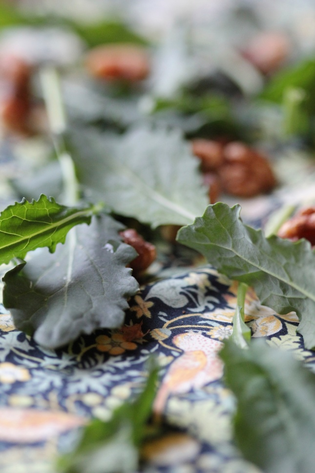 Kale and Walnuts