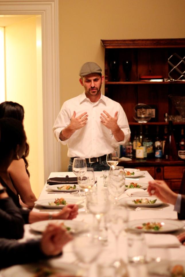 Chef Jonathan Fenelon