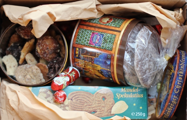 A dear friend's Care Package - German Christmas Goodies all the way from Berlin!