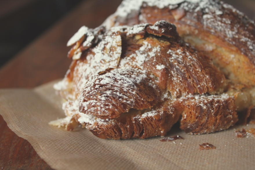 Almond Croissant from Tartine Bakery
