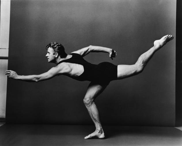 Mikhail Baryshnikov, Artist/Athlete extraordinaire...