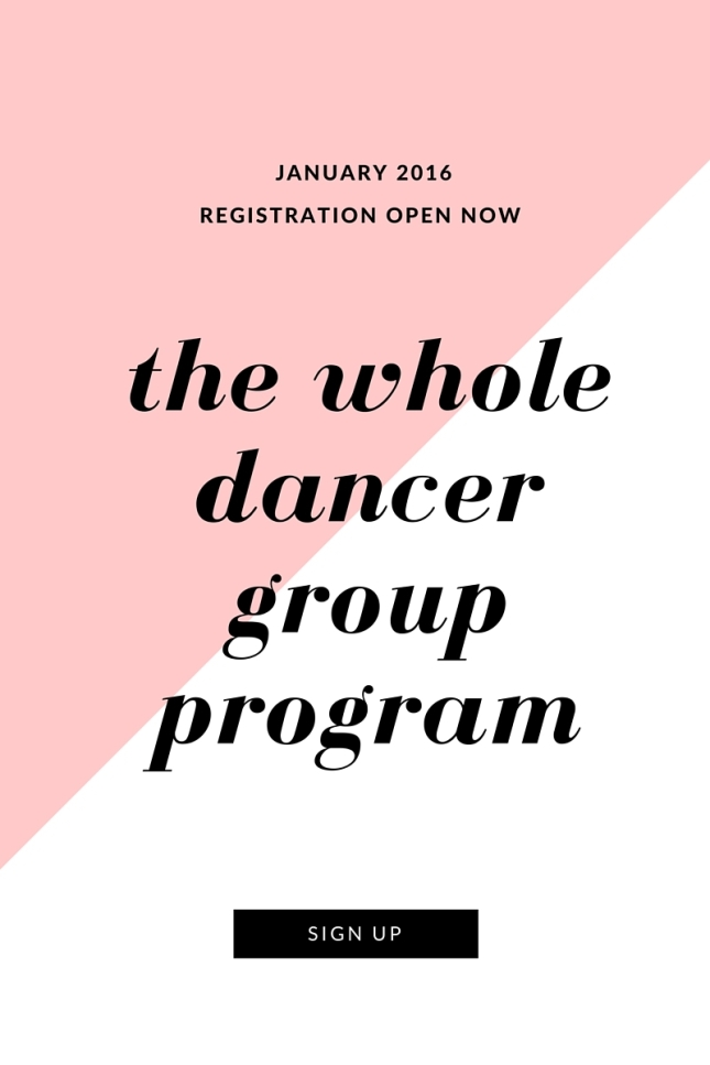 Click here to register! http://www.thewholedancer.com/the-whole-dancer-program/
